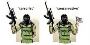 Terrorist and Conservative