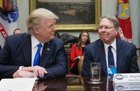 Trump and LaPierre