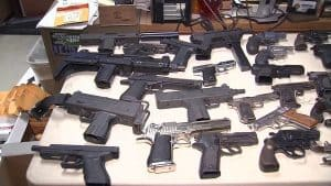 Guns on Table
