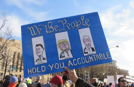 We hold you accountable: Trump, Michell and Ryan