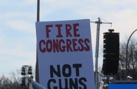 Fire Congress Sign