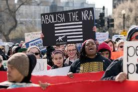 Abolish the NRA Sign