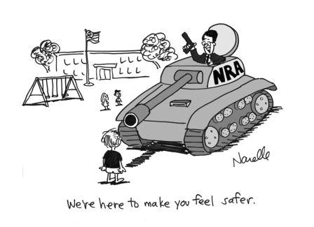 NRA Cartoon