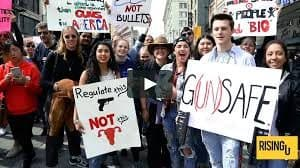 California gun protest