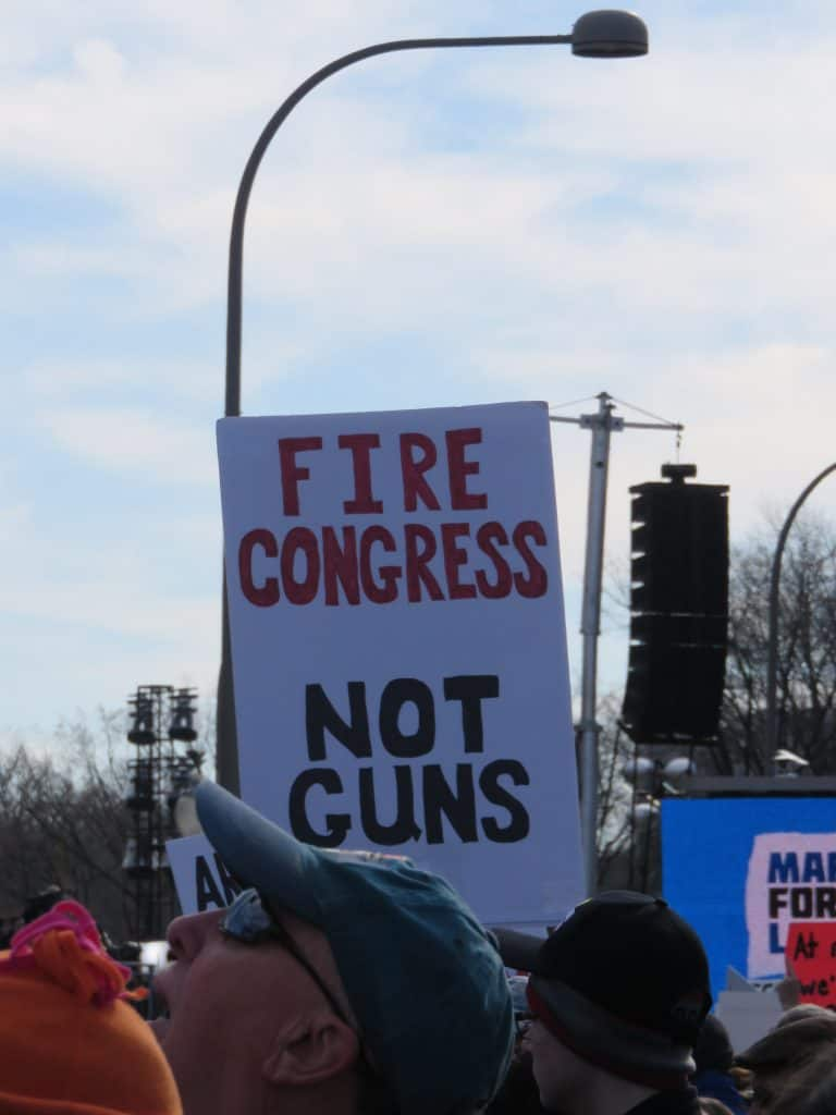 Fire Congres Not Guns